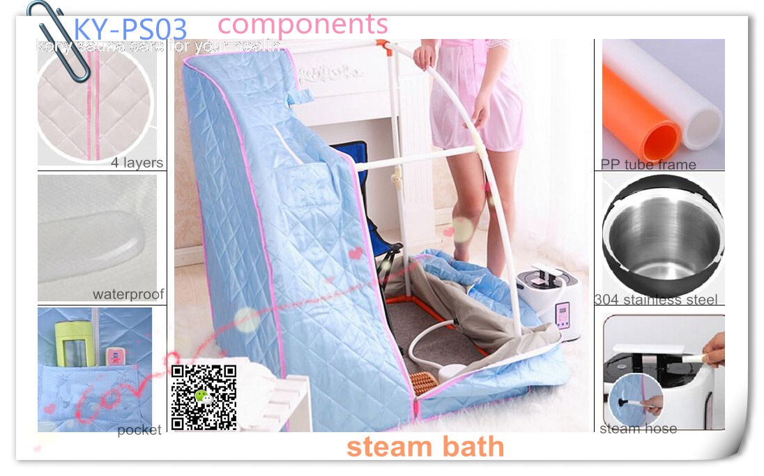 KY-PS03 Portable Steam Sauna the skin cleaning equipment as sauna shower